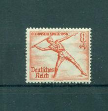 Echte Briefmarken aus dem deutschen Reich mit Olympische Spiele