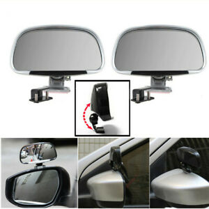 180° Wide Angle Blind Spot Mirror Auxiliary Car Rear Side View Self-adhesive