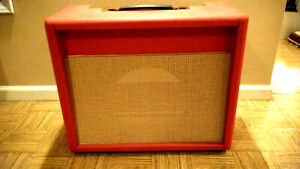 Stage Craft Style 1 Bluesbreaker 1x12 combo cab. Custom ordered. NEW. RED