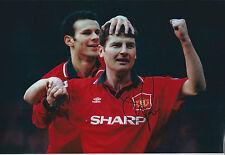 Denis IRWIN Signed Autograph  Photo AFTAL COA Man Utd Premier League WINNER RARE