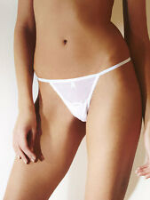 ANN SUMMERS Pure Lace WHITE String Sizes 14/16/18/20/22 @NEW@ BNWT