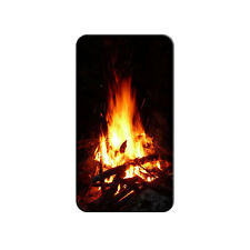 Campfire - Camp Camping Fire Pit Logs Flames - Metal Lapel Hat Pin Tie Tack