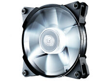 Coolermaster JetFlo Jet Flo 120mm 12cm Blanco Led Pwm Case Fan - 95 Cfm Refrigeración