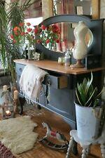 Vintage oak sideboard, cabinet. Dresser.