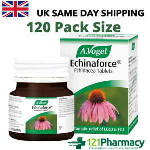 A VOGEL Echinaforce Echinacea - 120 Tablets | Herbal Remedy Cold Flu Respiratory