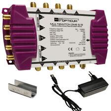SAT-Multischalter 5/8 OPTICUM Digital Multiswitch HDTV verteiler 4K UHD Schalter