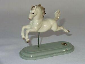 Hagen Renaker Small Horse Gray & White Carousel Figure