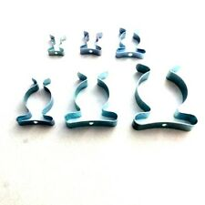 Wide Base Tool Spring Terry Clips Heavy Duty Tool Storage Hangers Various Sizes