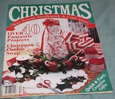 Christmas - Year Round Needlework & Craft Ideas