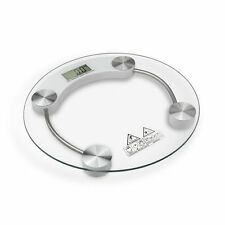 180KG/396lb Digital LCD Glass Bathroom Scale Body Weight Watchers High Precision