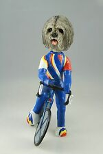 Bicycle Lhasa Apso Gray Interchangable Body See All Breeds Bodies @ Ebay Store