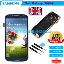 LCD Display Touch Screen Digitizer for Samsung I9505 Galaxy S4 Frame Blue