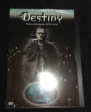 Fritz Lang DESTINY DVD Image Entertainment Brand New Factory Sealed!!