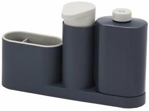 Joseph Joseph Kitchen Sink Tidy Set Soap Dispenser Washing Up Bottle Sponges