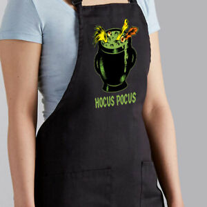 Apron Cooking BBQ Barbecue Grilling Baking Gift Witch Brew Halloween Hocus Pocus