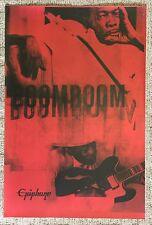 Vintage John Lee Hooker Gibson Epiphone Guitar Poster Boom Boom