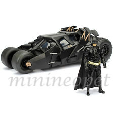 JADA 98261 THE DARK KNIGHT TRILOGY BATMOBILE TUMBLER 1/24 with BATMAN FIGURE