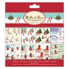 Hermoso Belle y Boo Navidad FSC Decoupage Pad para tarjetas & manualidades
