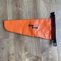 Gun Boat Roll Top Dry Bag Orange Flare Pistol Storage Marine