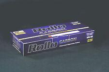 """600 NEW """"CARBON"""" EMPTY ROLLO TUBE Cigarette Tobacco Rolling Roller Filter Ventti"""