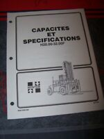 CU Manuel Hyster Capacites et specifications H20.00-32.00F