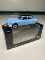 "Citroen DS19 1959 1:58 3"" Norev Diecast Collectable Toy Car Blue Black NEW BOXED"