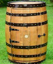 """Solid Oak Whisky Barrel Guinness Branded """"Balmoral"""" Drinks Cabinet   Wine Rack"""