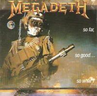 MEGADETH so far so good so what (CD, album) heavy metal, very good condition,