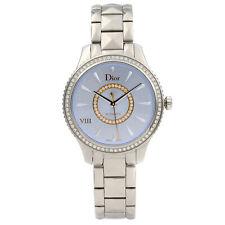 Dior VIII Montaigne Diamante Azul Sunray Dial Automático Ladies Watch CD152510M001