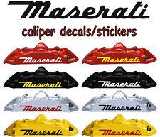 8 X Maserati Decal Sticker Graphics Vinyl Emblem Racing Logo B I