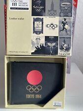 London 2012 Memorabilia 1964 Tokyo Boxed Leather(?) Wallet New Unused Olympics