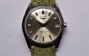 VULCAIN METEOR vintage watch automatic rare