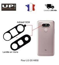 Pour LG G5 H850 Lentille Vitre Arrière Cache Caméra Appareil Photo + Adhésif OEM