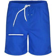 Mens DESIGNER Mesh Lined Shorts Pockets Swimming Holiday Beach Trunks Pants S-xl Royal Blue XL