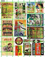5035 DAVE'S DECALS EARLY 20th JELLO RACING OIL BSA MOTOR BICYCLE SODA POP SIGNS