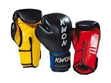 kick box scatole blu-arancione di Kwon Miglior Pelle Guantoni da boxe Super Champ
