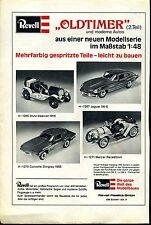 Revell--Oldtimer-- Teil 2 -- Revell Plastics GmbH--Werbung von 1977--