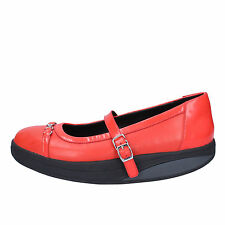 women's shoes MBT 6 / 6,5 (EU 37) flats red coral leather patent leather AC276-B
