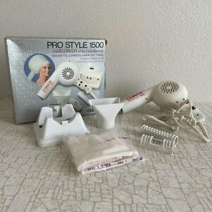 Vintage Conair Hair Dryer Boho Hair Salon Decor Retro Blow dryer 1500 Movie Prop