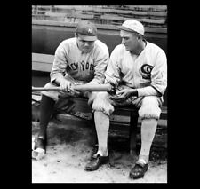 Babe Ruth Shoeless Joe Jackson PHOTO, New York Yankees, Chicago Black White Sox