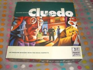 Cluedo The Classic Detective Game, Hasbro / Parker 2006, contents sealed