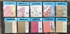 Aitoh Origami Paper Packs Lot Of 10 - Packs Vary See Details *New Sealed*