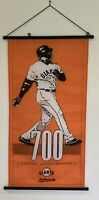 RARE San Francisco SF Giants Barry Bonds 700 Home Runs Season Ticket Holder Flag