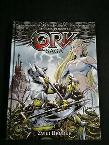 Ork Saga 1: Zwei Brüder Cross Cult Hardcover Album mit Signatur Snejbjerg