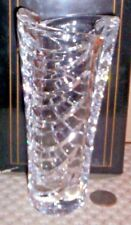Crystal Art Glass Crystal Vase ~ Made in Germany in the ANNA HUTTE Style