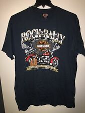 Vintage 1994 Harley Davidson ROCK N RALLY WILLIE NELSON T Shirt 90s Motorcycle G