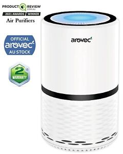 Air Purifier AROVEC Home Purifier HEPA Filter Odour Virus Smoke Remover Cleaner