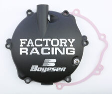 BOYESEN FACTORY RACING CLUTCH COVER (BLACK) CC-31B Fits: Yamaha YZ125