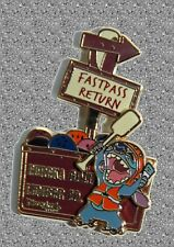 Stitch Grizzly River Run Sign Pin -  LE 500 -  Fastpass Return - Surprise