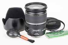 Canon 17-55mm f/2.8 EF-S IS USM lens +hood, UV filter, cloth, airbrush | mint c.
